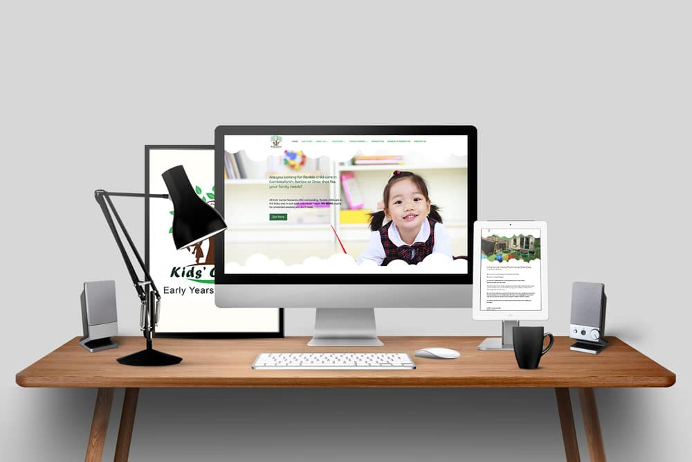 Nursery Website - Kids Corner