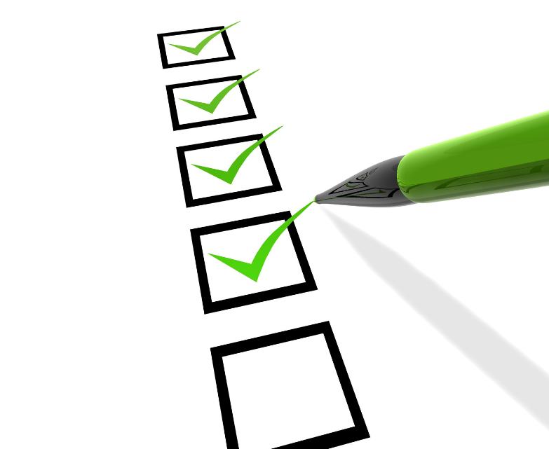 new website checklist