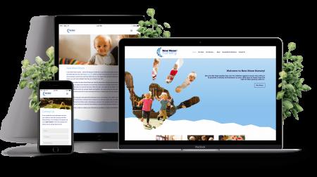 New Moon Nurseries Website